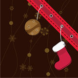 Chrstmas card. Christmas card for christmas, winter and holiday themes Royalty Free Stock Images