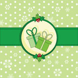 Chrstmas card Stock Images
