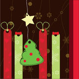 Chrstmas card Royalty Free Stock Image