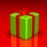 Chrstmas gift Stock Photo