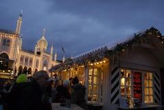 CHRSTMAS IN TIVOLI GARDEN Royalty Free Stock Photo