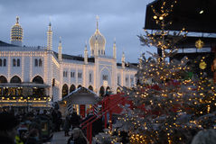 CHRSTMAS IN TIVOLI GARDEN Stock Photos