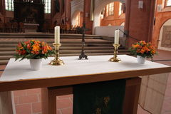 Chruch Altar Royalty Free Stock Photography