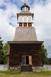 Chruch de madeira no Unesco do petajavesi imagens de stock royalty free