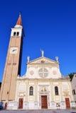 Chruch di Mogliano Veneto immagine stock