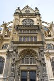 Chruch do St. Eustache em Paris Foto de Stock