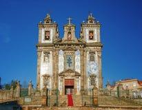 Chruch Igreja de Sto Ildefonso, Porto, Portugal Lizenzfreie Stockbilder