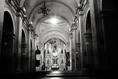 Chruch Interior Stock Photography