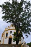 Chruch Nossa Senhora dos Remédios. Church of Fernando de Noronha in Brazil Stock Photos