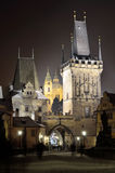 The Chruch of St. Nicholas in Prague Stock Photography
