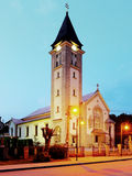 Chruch in Terchova village. Slovakia stock image