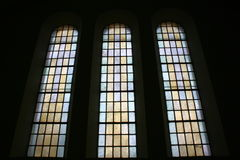 Chruch windows Royalty Free Stock Image