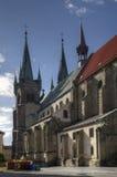 Chrudim slott, Tjeckien Arkivbild