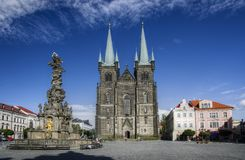 Chrudim (Tsjechische Republiek) Stock Afbeelding