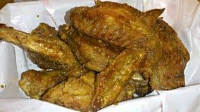 chrupiące smażonego kurczaka Obrazy Stock