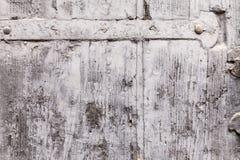 Chrupliwa tekstura farba żakiet Na Drewnianej żaluzi obraz stock