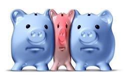 chrupnięcie pieniądze Zdjęcia Stock