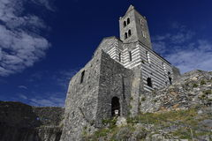 Church of St. Peter, Portovenere, Italy Stock Photos