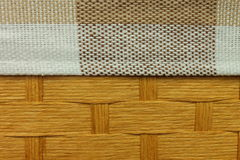 Chrustowa i tekstylna tekstura Obraz Royalty Free