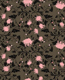 Chrysanthemeblumenmuster Lizenzfreies Stockbild