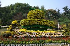 Chrysanthemeorange Lizenzfreie Stockfotografie