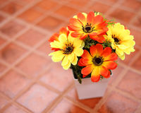 Chrysanthemum of artificial flowers Stock Photography