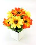 Chrysanthemum of artificial flowers Stock Photo