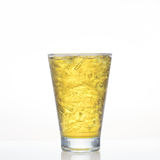 Chrysanthemum cold herbal drink in glass  Stock Photography