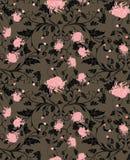 Chrysanthemum flower pattern Royalty Free Stock Image