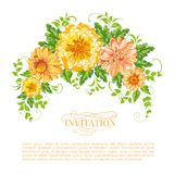 Chrysanthemum garland. Stock Photos