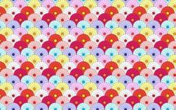 Chrysanthemum Pattern Stock Image