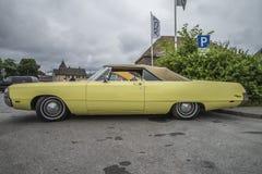 1969 Chrysler Νιούπορτ μετατρέψιμο Στοκ φωτογραφία με δικαίωμα ελεύθερης χρήσης