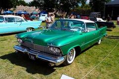 Chrysler 1958 britisch Lizenzfreie Stockfotografie
