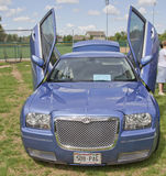 Chrysler 300 car with butterfly doors Stock Photo