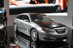 Chrysler 300S model 2011 Stock Photos