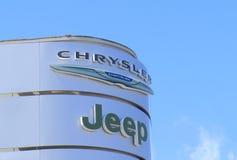 Τζιπ Chrysler Στοκ εικόνα με δικαίωμα ελεύθερης χρήσης