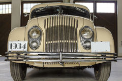 Chrysler Airflow on Display in a Museum Royalty Free Stock Photos