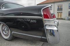 Chrysler 1956 300B (detalle de la defensa posterior) Imagen de archivo libre de regalías