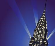 Chrysler Budynek ilustracji