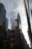Chrysler Building & 42nd St stock photography
