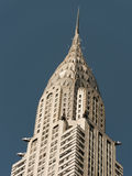 Chrysler building. Top of the Chrysler building in Manhattan New York Royalty Free Stock Image