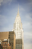 Chrysler Building. The Chrysler Building is an Art Deco style skyscraper in New York City, located on the east side of Manhattan in the Turtle Bay area at the Stock Photos