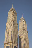 Chrysler building in Dubai Royalty Free Stock Photos