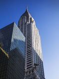 The chrysler building Royalty Free Stock Images