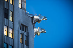 Chrysler Building gargoyles Royalty Free Stock Photography