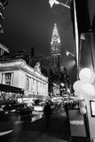 Chrysler Building with Grand Central Station in the foreground Royalty Free Stock Images