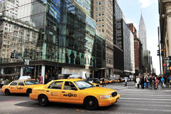 Chrysler building in Manhattan New York City Royalty Free Stock Images