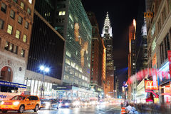 Chrysler Building in New York City Stock Photo