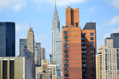 Chrysler Building in New York City Royalty Free Stock Photo