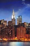 Chrysler Building in New York City Manhattan Stock Images